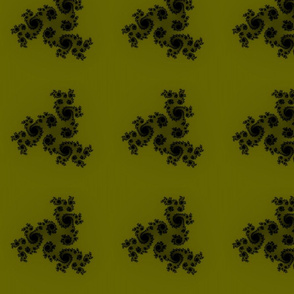 Julia/ Mandelbrot Set Mathematical Fabric 5