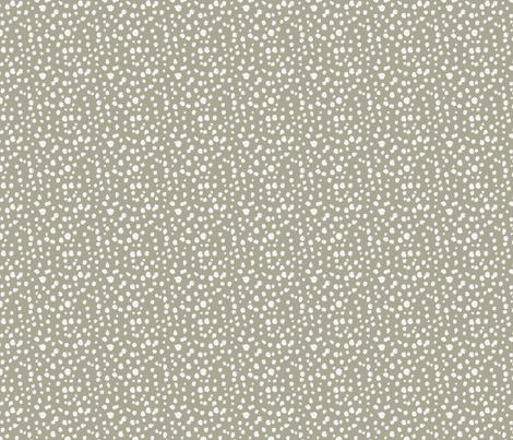 Messy Polka Dots Mocha  fabric by dolphinandcondor on Spoonflower - custom fabric