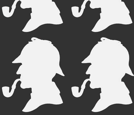 Sherlock2 fabric by twoboos on Spoonflower - custom fabric