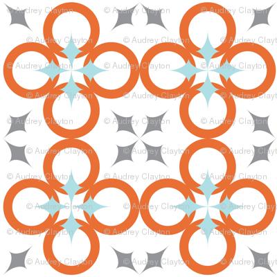 White Mod Circle
