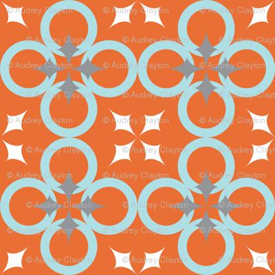 Orange Mod Circle