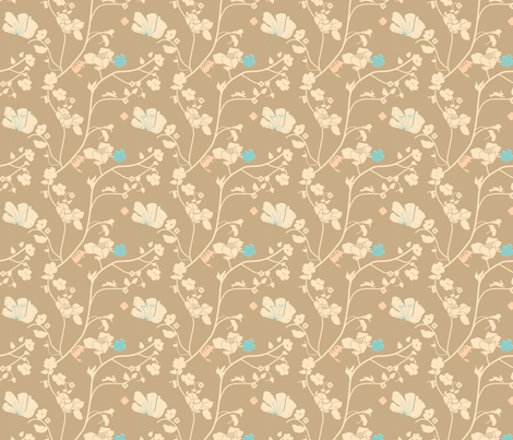 woodland creatures foxy fabric by fiona_mcdonald_juicyapple on Spoonflower - custom fabric