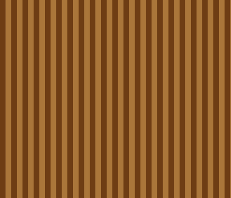 Stripedy HOOT! ~ Brown fabric by asilo on Spoonflower - custom fabric