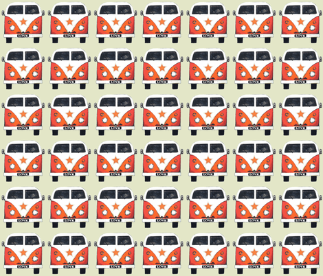 star camper fabric by scrummy on Spoonflower - custom fabric