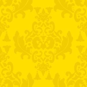 Mustard Damask