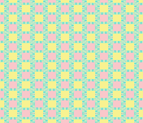 Pastel Watercolor Checks II fabric by robin_rice on Spoonflower - custom fabric