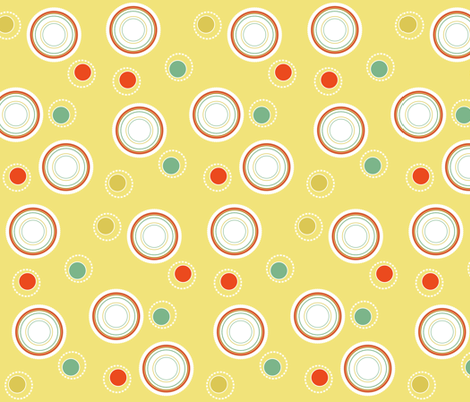circles fabric by eedeedesignstudios on Spoonflower - custom fabric