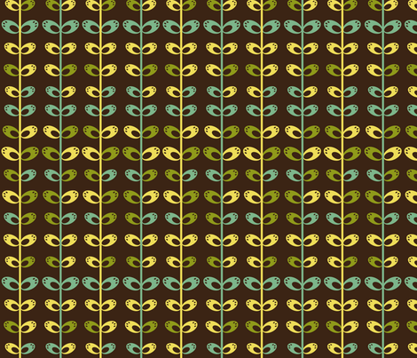 stems2 fabric by eedeedesignstudios on Spoonflower - custom fabric