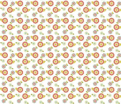 flower_design fabric by eedeedesignstudios on Spoonflower - custom fabric