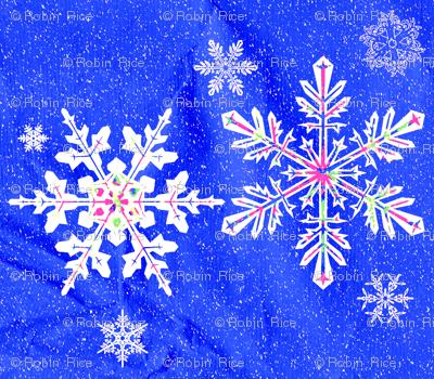 Sparkling Snowflakes II