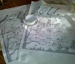 Saving the Trees Tea Towel Calendar 2011
