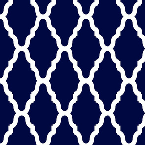 Blue Lattice Lg Reverse