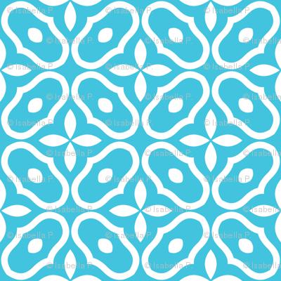 Mosaic - Blue
