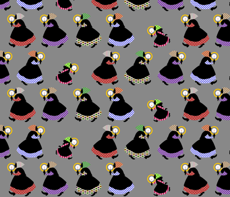 By Candlelight fabric by siya on Spoonflower - custom fabric
