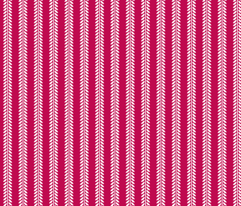Willow Branch stripe - Magenta