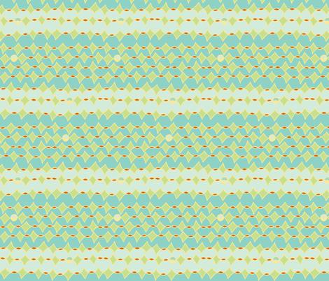 kite lines in the sky fabric by luluhoo on Spoonflower - custom fabric