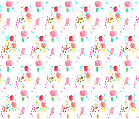 cestlaviv _SWEET NOTHINS G2 fabric by cest_la_viv on Spoonflower - custom fabric