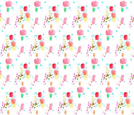 cestlaviv _SWEET NOTHINS G2 fabric by cest_la_viv on Spoonflower - custom fabric