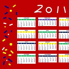 2011 celebrate calendar