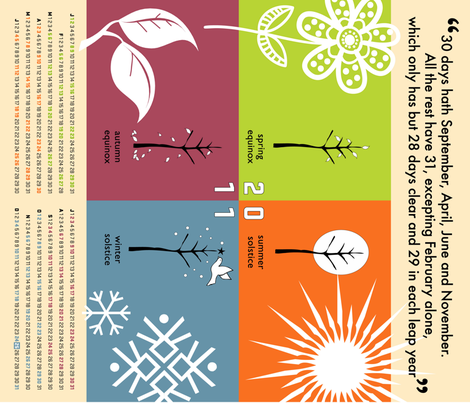 season_calendar fabric by peppermintpatty on Spoonflower - custom fabric