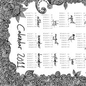 Ornaments 2011 Calendar