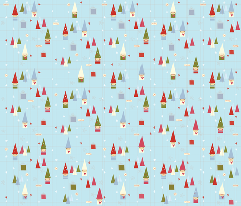 Stitchy Christmas fabric by cynthiafrenette on Spoonflower - custom fabric