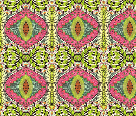 mystery3 fabric by chelmers on Spoonflower - custom fabric
