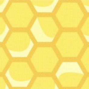 Medium Vintage Honeycomb