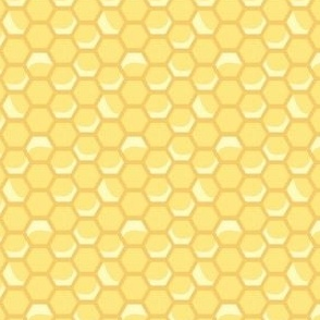 Tiny Vintage Honeycomb