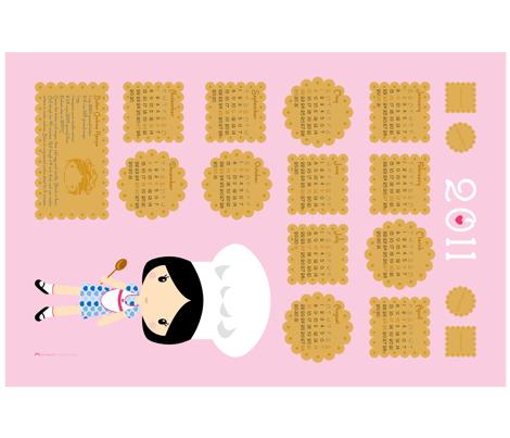 Cookies Calendar 2011