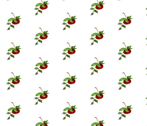 Apple  fabric by paragonstudios on Spoonflower - custom fabric