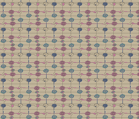 twirl_2b_s fabric by soobloo on Spoonflower - custom fabric