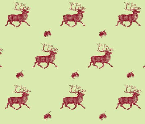 Rreindeer_n_pinecone_-_vibrant_red_n_green_shop_preview
