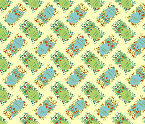 Wise Guys fabric by kdl on Spoonflower - custom fabric