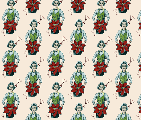 Xmas Cheer fabric by nalo_hopkinson on Spoonflower - custom fabric
