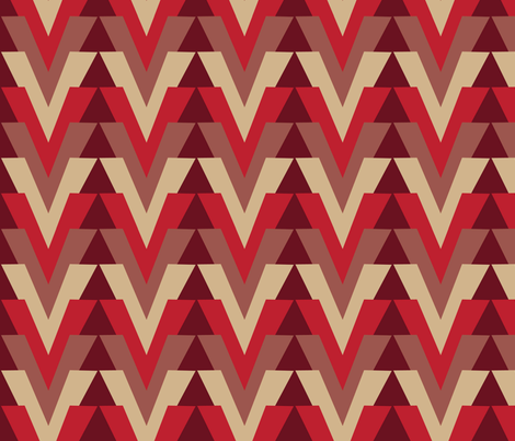 Arrow Alt Bing Cherry fabric by dolphinandcondor on Spoonflower - custom fabric