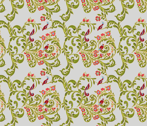 volute_russe_gris fabric by nadja_petremand on Spoonflower - custom fabric
