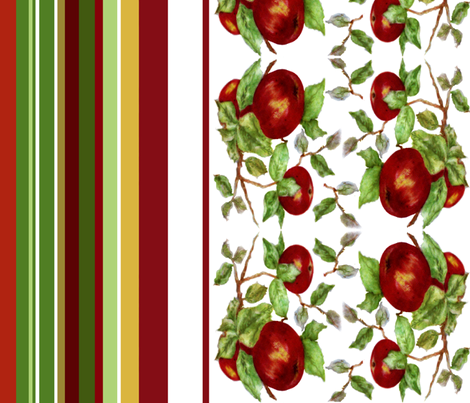 Apples stripe