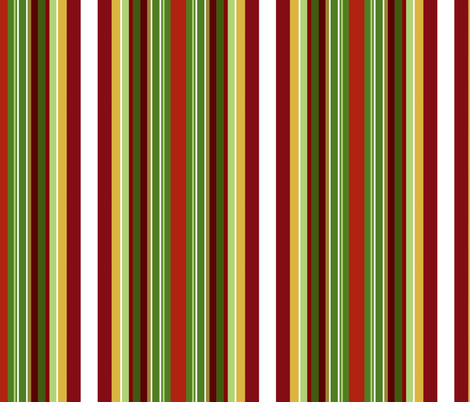 Apples stripe fabric by paragonstudios on Spoonflower - custom fabric