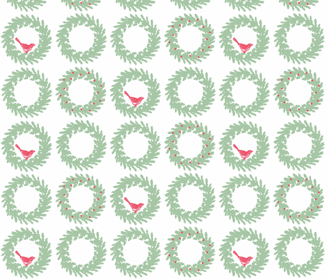 Deck the Halls fabric by hauteideas on Spoonflower - custom fabric