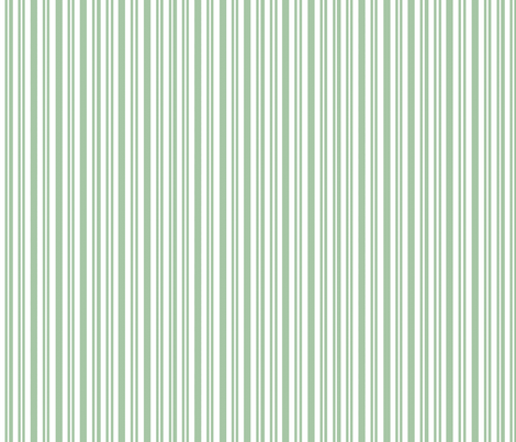 Holiday Ticking (Holly green) fabric by hauteideas on Spoonflower - custom fabric