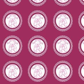 kokeshi doll circles