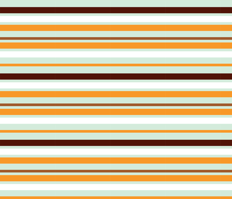 squirrelstripes fabric by mrshervi on Spoonflower - custom fabric