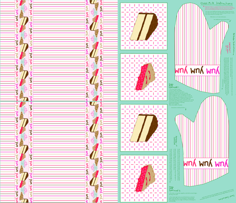 Yum_yum_yum_dolly_and_me_moms_acessory_set_for_quilting_weight_cotton fabric by victorialasher on Spoonflower - custom fabric