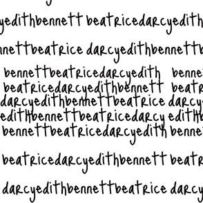 Names Scribe