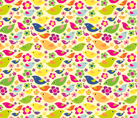 manu_print_01 fabric by waikai on Spoonflower - custom fabric