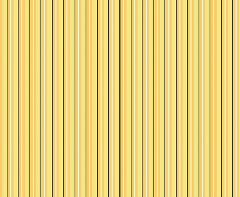 Bee Stripe fabric by nightgarden on Spoonflower - custom fabric