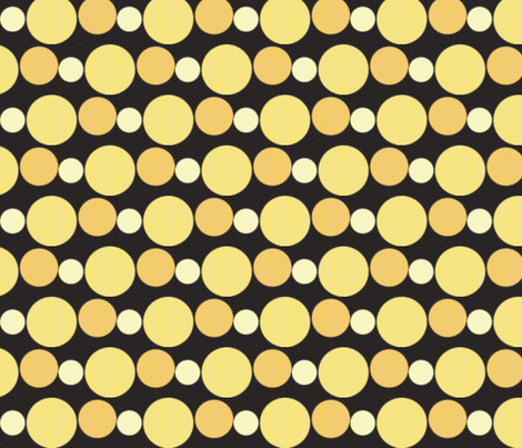 Vintage Dots fabric by nightgarden on Spoonflower - custom fabric