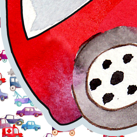 pilow car fabric by nadja_petremand on Spoonflower - custom fabric