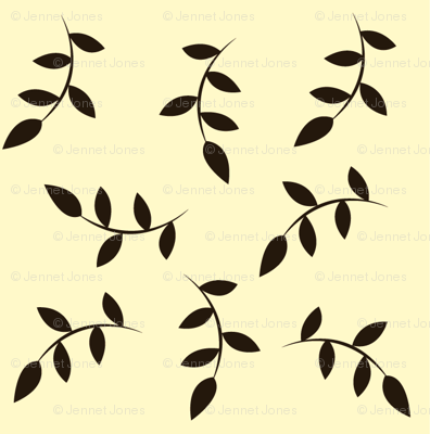 black_leaves_on_cream